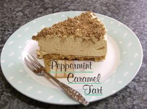 Peppermint Caramel Tart - Copy