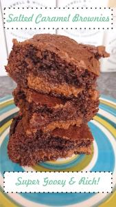 Salted Caramel Brownies
