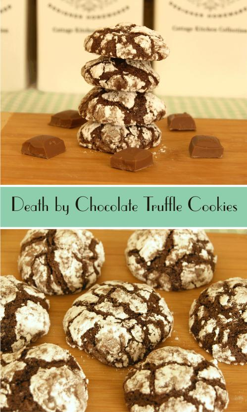 Death by Chocolate Truffle Cookies Cover
