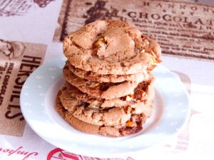 Nutty Brittle Cookies. Time: 1 hr 30 min.  Makes: 40